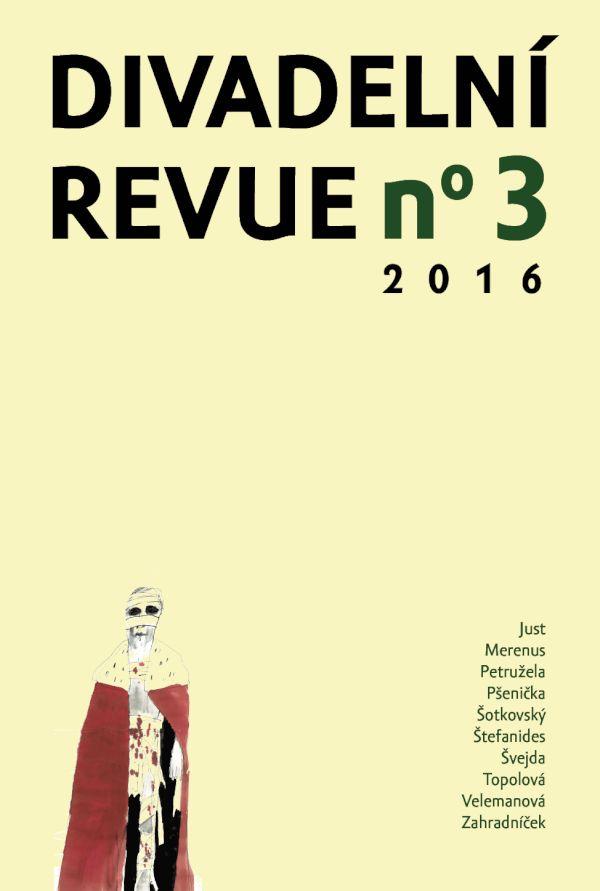Divadelní revue 3/2015