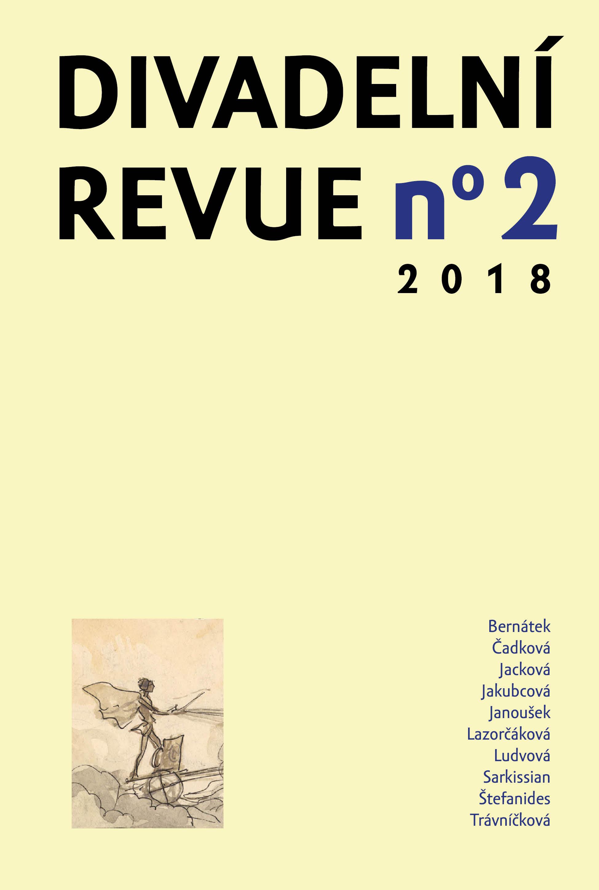 Divadelní revue 2/2018