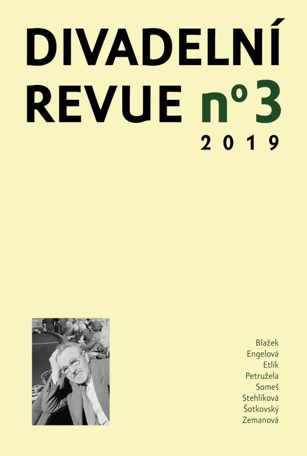 Divadelní revue 2/2019